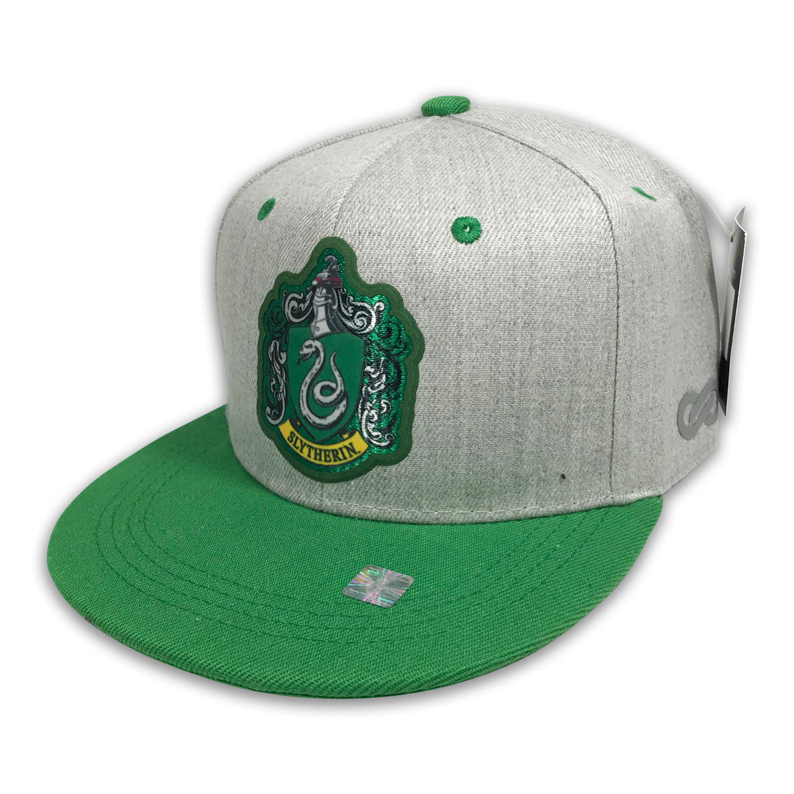 Gorra Harry Potter SLYTHERIN GREY/GREEN - SNAPBACK MX