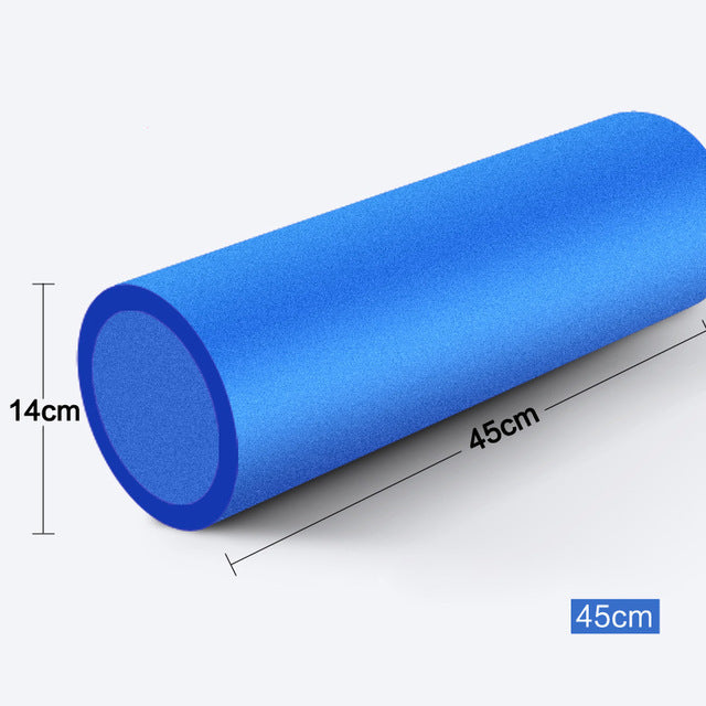 45*14cm Yoga Foam Roller High Density EVA Yoga Pilates Foam Roller Physio Blocks Exercise Massage Fitness Cure Trigger Point
