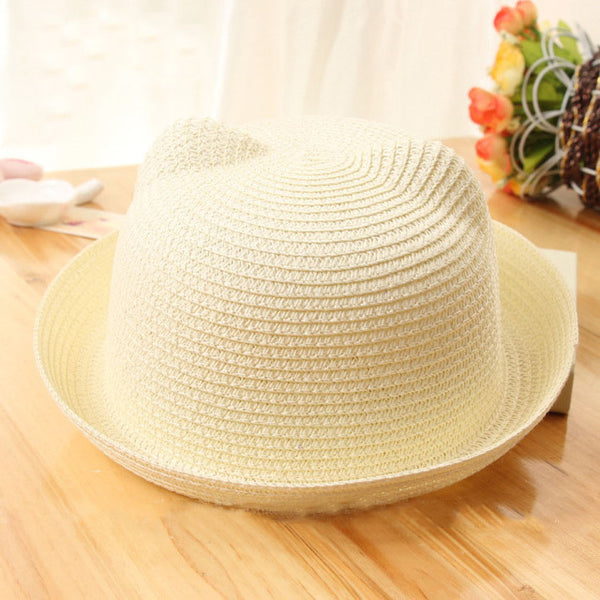 Colorful Child Straw Hat