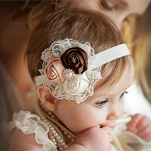 Lace Flower Headbands