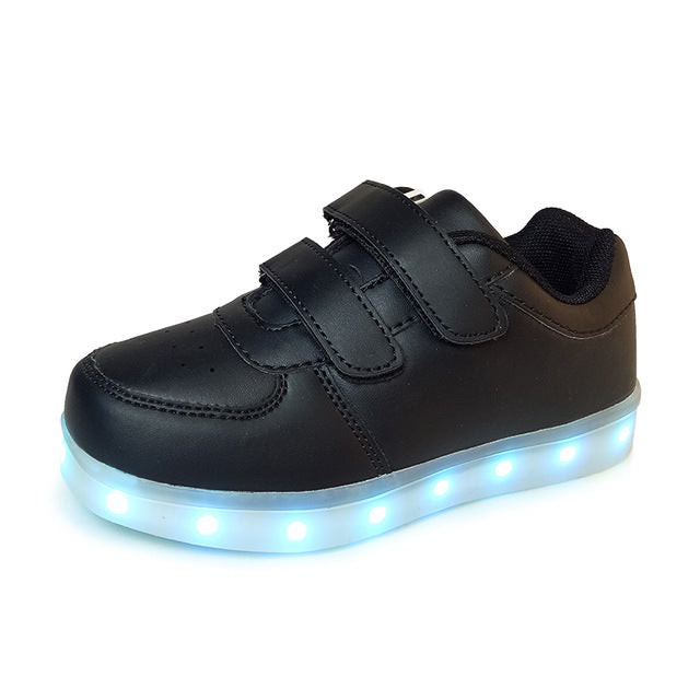 Black Light Up Shoes