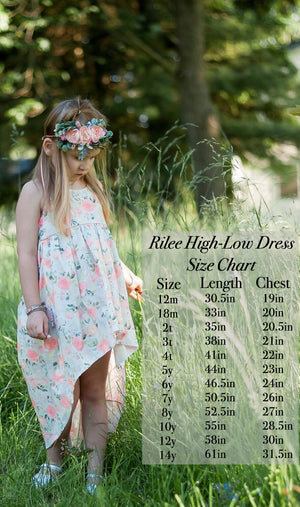 Ryliee High-Low cotton dress