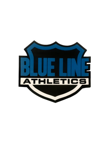Blueline Athletics Shield Patch