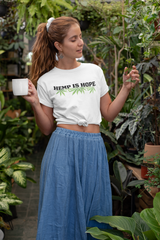 Hemp Is Hope OG Graphic Tee Black Font - Eveland Boutique