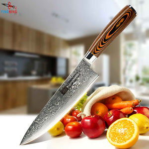 "Damascus Steel 8"" Chef knife - 71 layers"