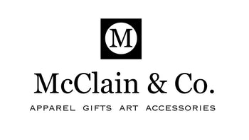 McClain & Co. Logo with Square and Circle