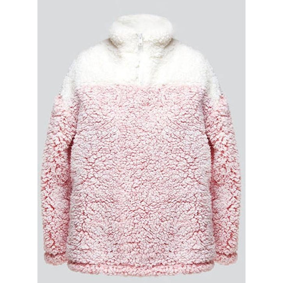 Girls Fuzzy Fleece Pullover - McClain & Co.