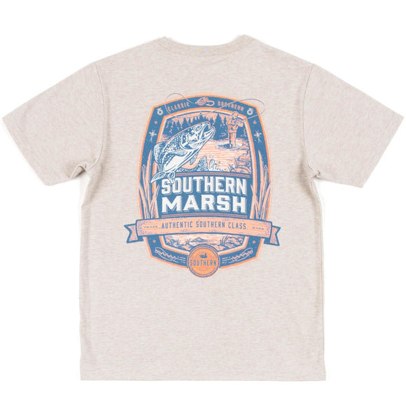 Youth Genuine Fly Fishing Tee by Southern Marsh - McClain & Co.