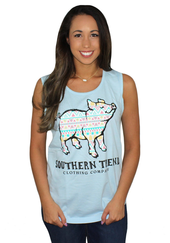 Southern Trend Aztec Pig Tank