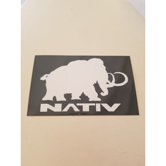 Nativ Mammoth Sicker