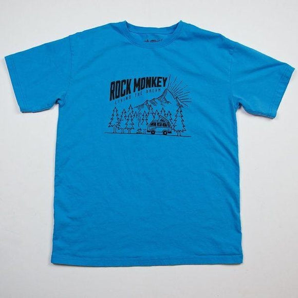 Rock Monkey Short Sleeve Camping Tee
