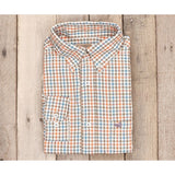 Cashiers Washed Gingham Men's Dress Shirt by Southern Marsh - McClain & Co.