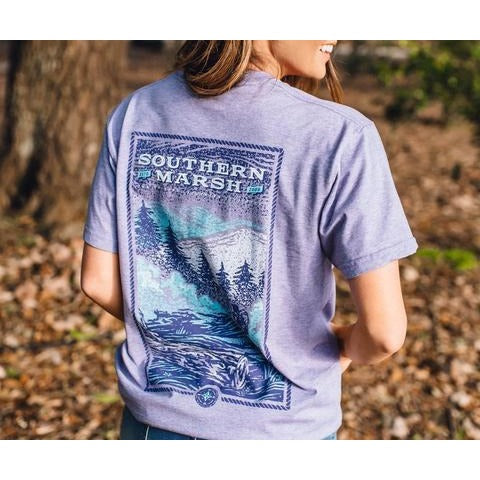 Southern Marsh Relax and Explore Trail Short Sleeve Tee