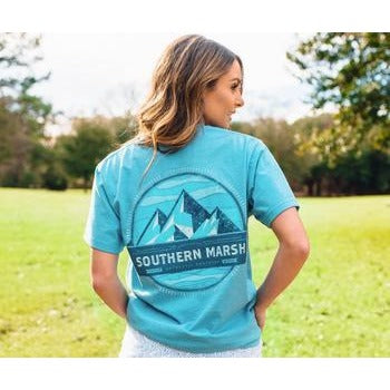 Southern Marsh Branding Summit Short Sleeve Shirt
