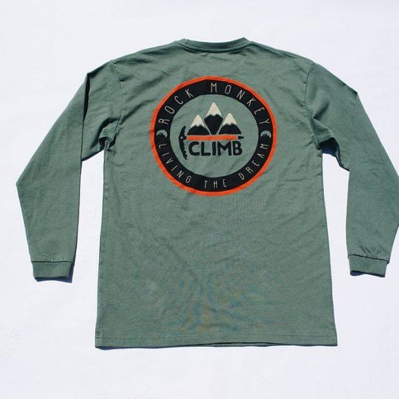 Rock Monkey Long Sleeve Climb Tee