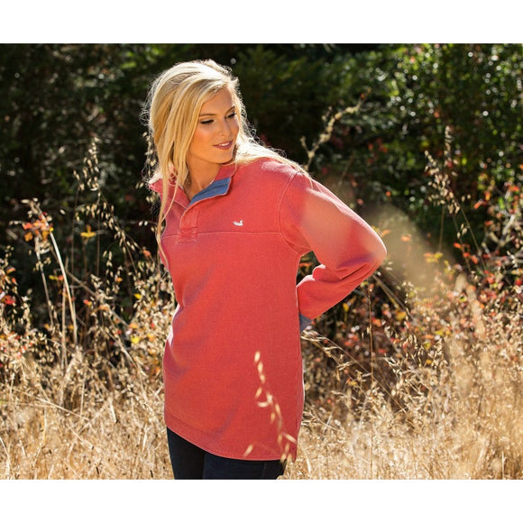 Riley Pique Pullover by Southern Marsh - McClain & Co.