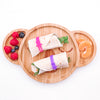 Lunch Punch Silicone Wrap Bands - Pink