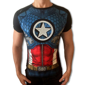 Captain America tshirt camisa playera remera - SugarCane1977