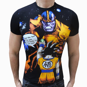 Goku V.S. Thanos t-shirt SugarCane1977