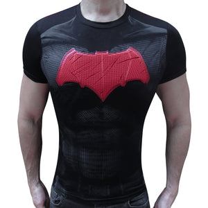 Batman Red JL 3-skin t-shirt SugarCane1977