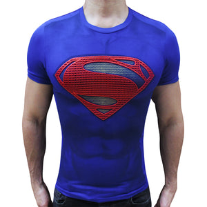 Superman Rises t-shirt SugarCane1977