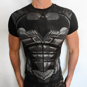 Batman Armored Suit t-shirt SugarCane1977