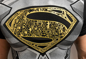 Superman Father's Armor t-shirt SugarCane1977