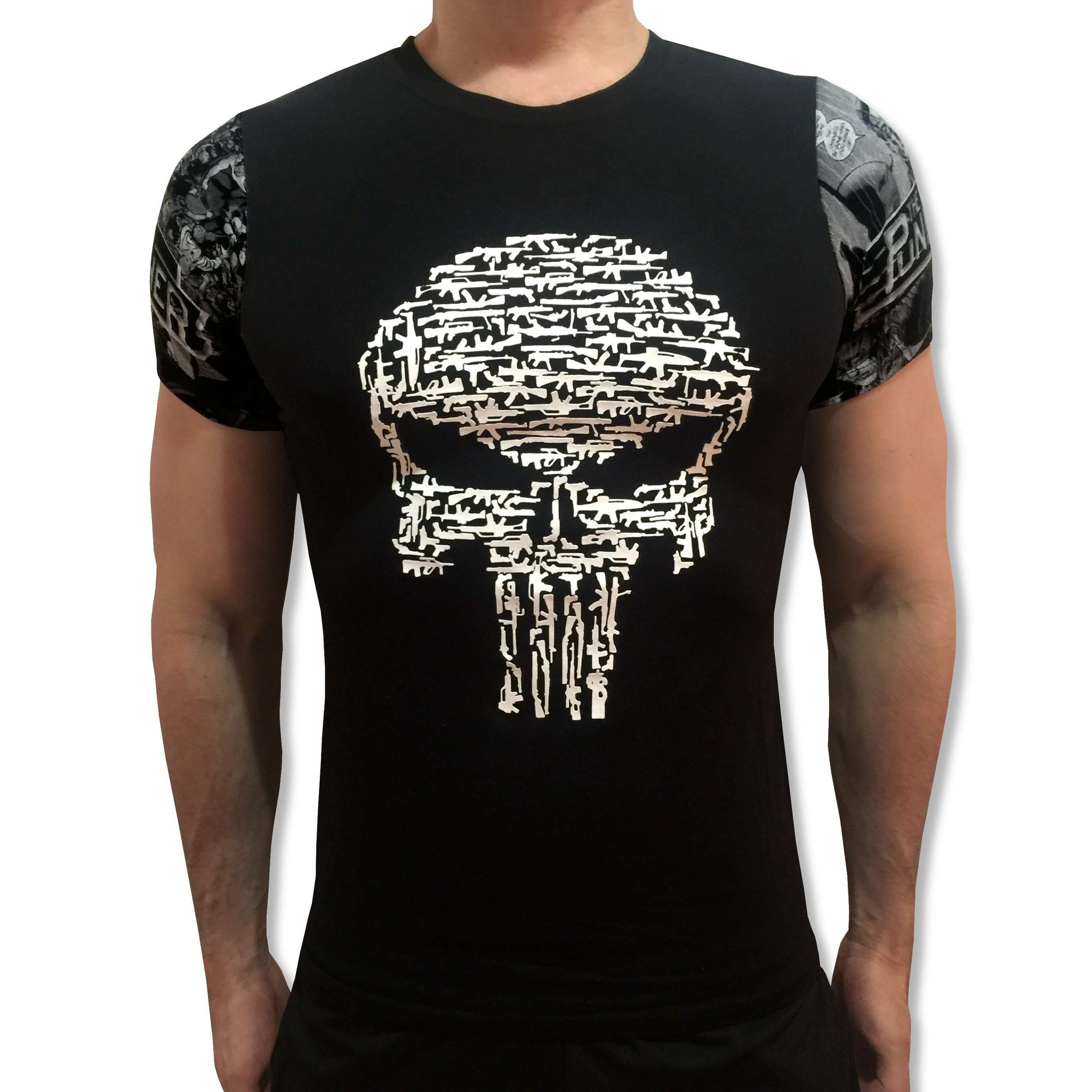 Punisher Embossed Tee! tshirt shirt t-shirt tee - SugarCane1977