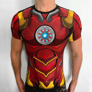 Ironman Proof that Tony Stark has a heart t-shirt SugarCane1977
