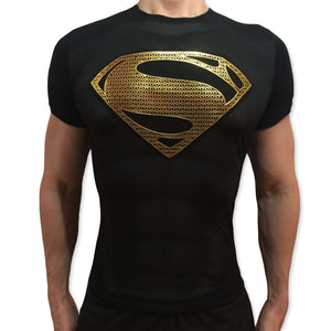 Superman Gold II tshirt shirt t-shirt tee - SugarCane1977
