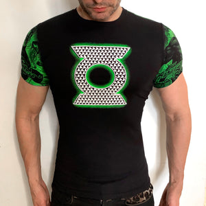 Green Lantern casual t-shirt SugarCane1977