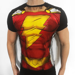 Shazam! Thunder Suit t-shirt SugarCane1977