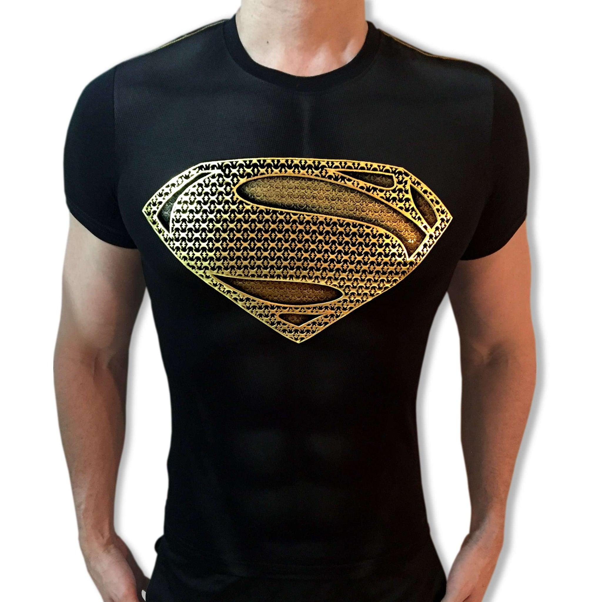 Superman Gold Shield t-shirt SugarCane1977 tshirt shirt t-shirt tee - SugarCane1977