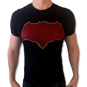 Batman JC Red tshirt shirt t-shirt tee - SugarCane1977