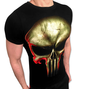 Punisher Skull tshirt shirt t-shirt tee - SugarCane1977