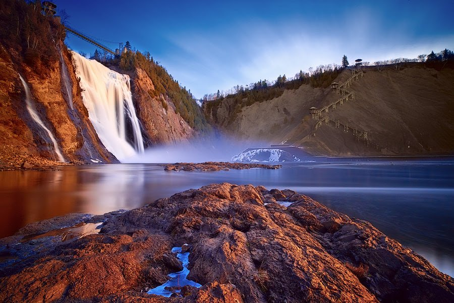 Montmorency Falls, magical nature