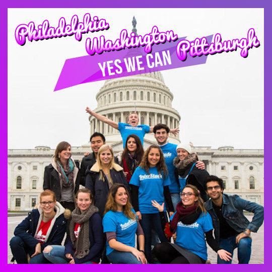 Yes We Can - MEGA Road Trip to Washington, Philadelphia, Pittsburgh - interstudeinc