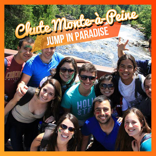 Jump in Paradise – National Park of Les Chutes Monte à Peine (July) - interstudeinc