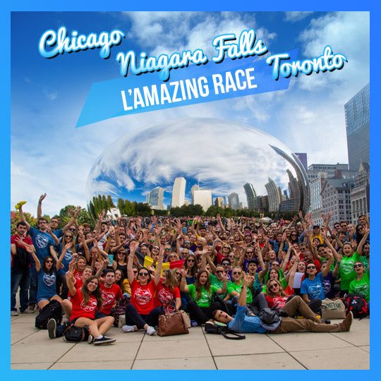 L'Amazing Race – Road Trip to Chicago, Toronto, Niagara Falls - interstudeinc