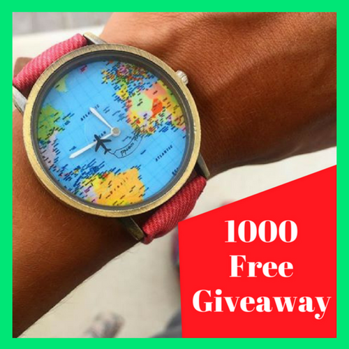 Amazing World Map Travel Watch