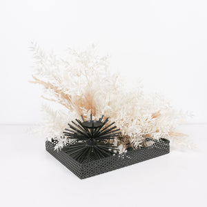 Mini nest flower arrangement
