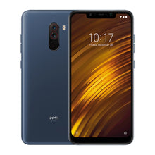 Xiaomi POCO F1, 6GB+64GB. IR Face Unlock + Back Fingerprint Identification, 4000mAh Battery, 5.99 inch MIUI V9.5(Android 8.1 Oreo) Qualcomm Snapdragon 845 Octa Core up to 2.8GHz, Network: 4G, Dual SIM(Steel Blue)