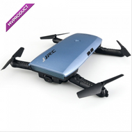 JJRC H47 Elfie+ Mini Foldable Wi-Fi Drone Quadcopter - Blue