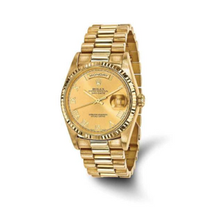 Pre-Owned Rolex Men's 18 Karat Yellow Gold Day-Date Presidential Watch