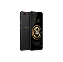 Global Version]ZTE Nubia Z17 Lite 5.5 Inch Smartphone 6GB 64GB 13.0MP Dual Rear Camera Snapdragon 653 Octa Core Android 7.1 NFC QC3.0 Metal Body - Black Gold