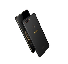 Official Global Version]ZTE Nubia Z17 Lite 5.5 Inch Smartphone 6GB 64GB 13.0MP Dual Rear Camera Snapdragon 653 Android 7.1 NFC QC3.0 Metal Body Dash Charger Included - Black Gold