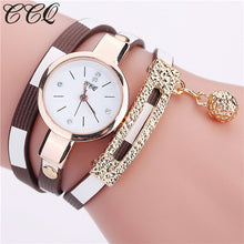 Brand Fashion Leather Bracelet Watches Women