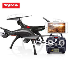 SYMA X5SW RC Helicopter Aircraft FPV Mini Drone with Camera 4-Channel Mobile Wifi Real-Time Transmission Toys USB Quadcopter