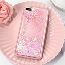 DOEES Bling Liquid Quicksand Phone Case For iPhone 7 7 Plus Shiny Sequin Soft Silicone Case Cover For iPhone 5 5S SE 6 6s Plus