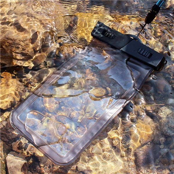 GETIHU Universal Sealed Waterproof Bag Pouch Phone Cases For iPhone Cellphone Smartphone Water Proof Case For 5.5 inch or Below